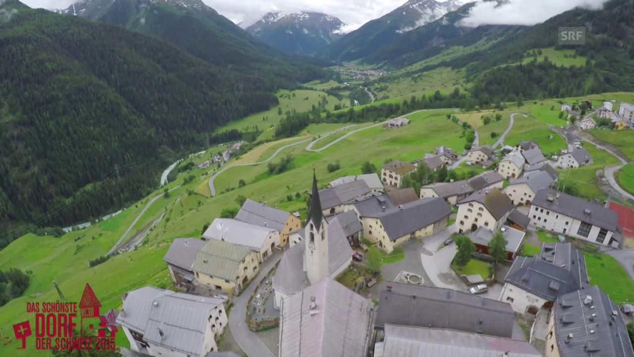 Wird Guarda das schönste Dorf der Schweiz 2015?
