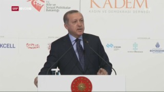 Video «Erdogan droht der EU» abspielen
