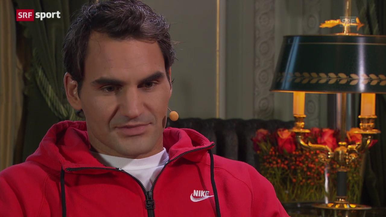 Federer über die Trennung von Paul Annacone