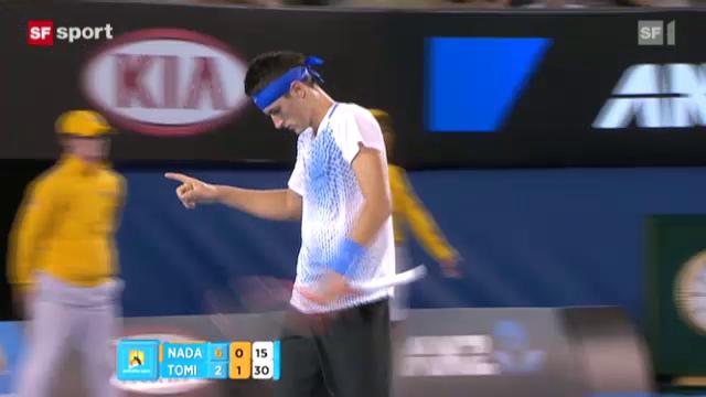 Nadal ohne Satzverlust weiter