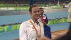 Video «1500-Meter-Rennen: Silber für Hug, Schär verpasst Medaille knapp» abspielen