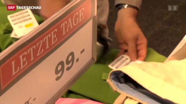 Video «Kauflaune bei den Schweizern» abspielen