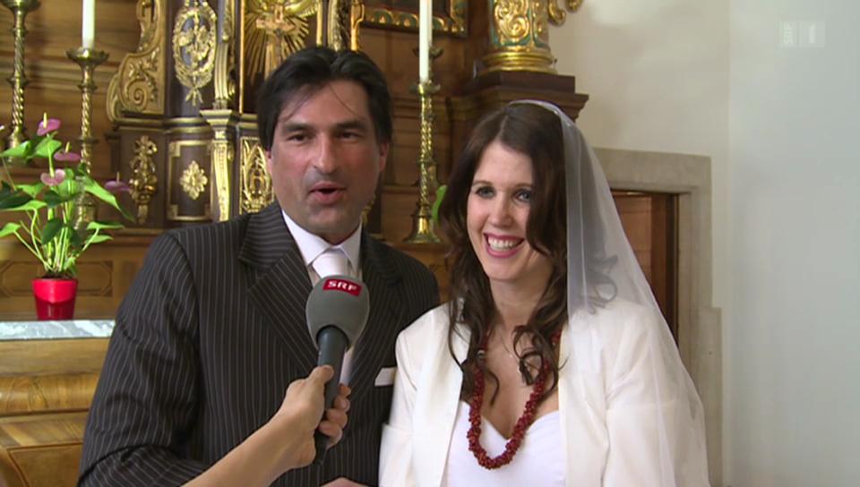 Gunvor: Hochzeit oder nur Videodreh?
