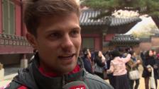 Video «Fussball: Valentin Stocker über den Königspalast in Seoul» abspielen