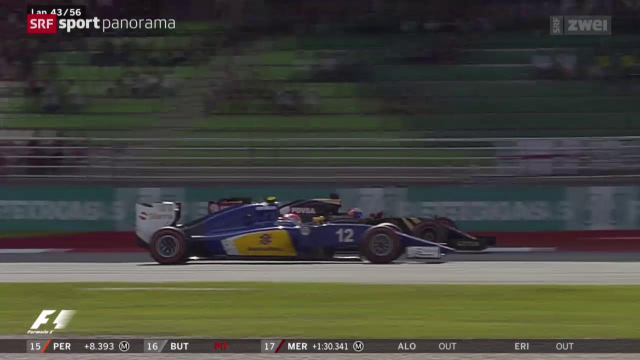 Formel 1: Sauber ohne Punkte