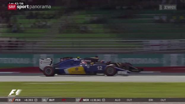 Video «Formel 1: Sauber ohne Punkte» abspielen