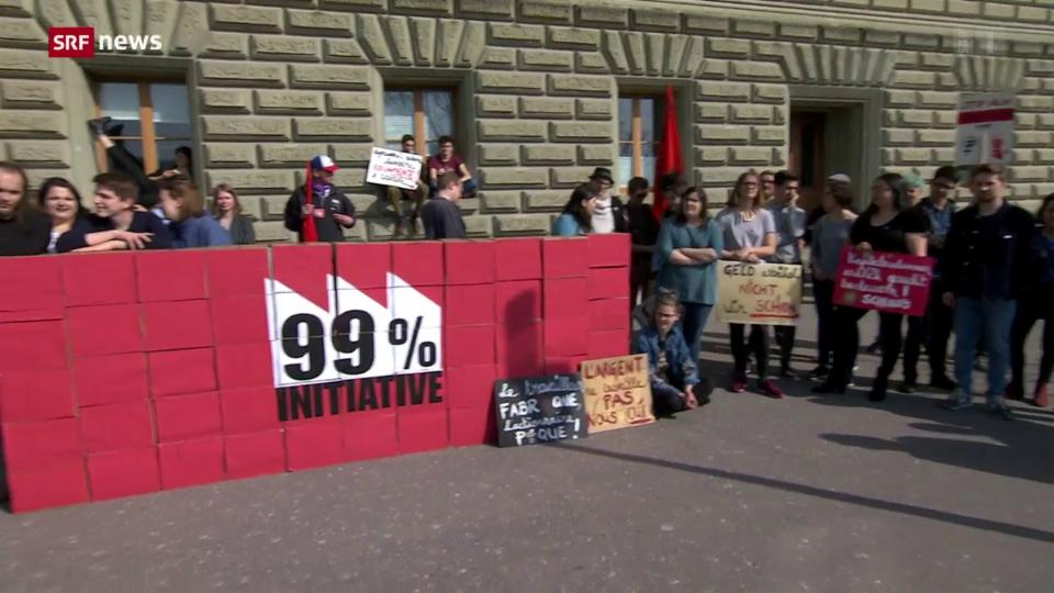 Kampagne zu 99-Prozent-Initiative lanciert