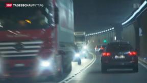 Video «Zweite Röhre durch den Gotthard?» abspielen