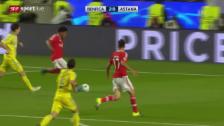 Video «Fussball: Champions League, Zusammenfassung Benfica Lissabon - Astana» abspielen