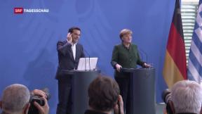 Video «Vorübergehend keine Schuldenerleichterungen mehr für Griechenland» abspielen