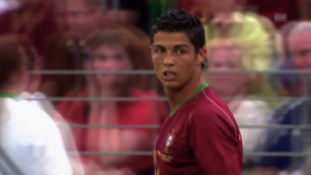 Video «Fussball: Cristiano Ronaldo: Leichtfüssig wie ein Tänzer» abspielen