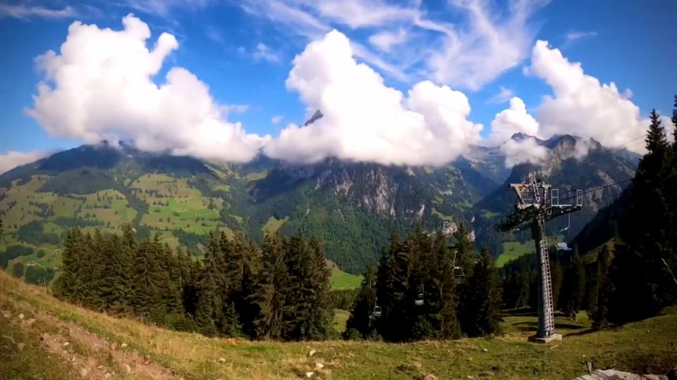 Wolkentanz im Kiental/BE, 18. September, Christian Trachsel