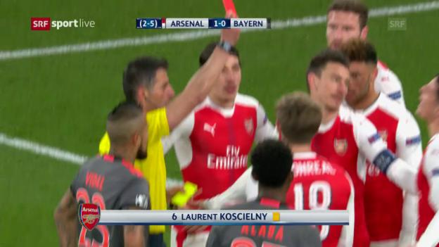 Video «Bayern demütigen Arsenal erneut» abspielen