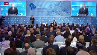 Video «Staatschef Poroschenko bestätigt Waffenruhe im Donbass» abspielen