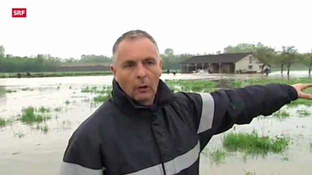 Video «Überschwemmungen in Frankreich» abspielen