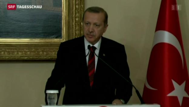 Video «Keine Annäherung zwischen USA und Türkei» abspielen