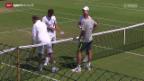 Video «Tennis: Wimbledon, Vorschau auf Roger Federers Halbfinal» abspielen