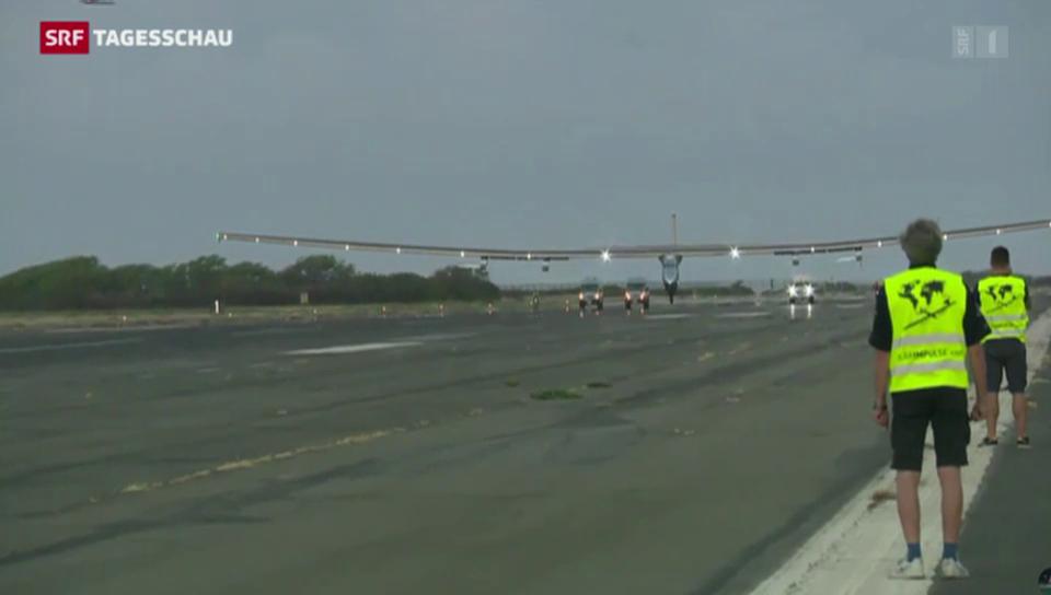 Solar Impulse beendet Rekordflug