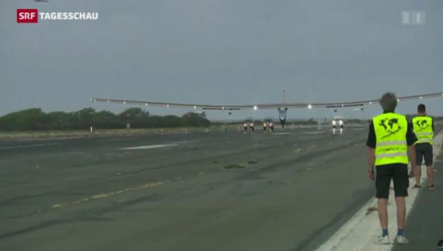 Video «Solar Impulse beendet Rekordflug» abspielen