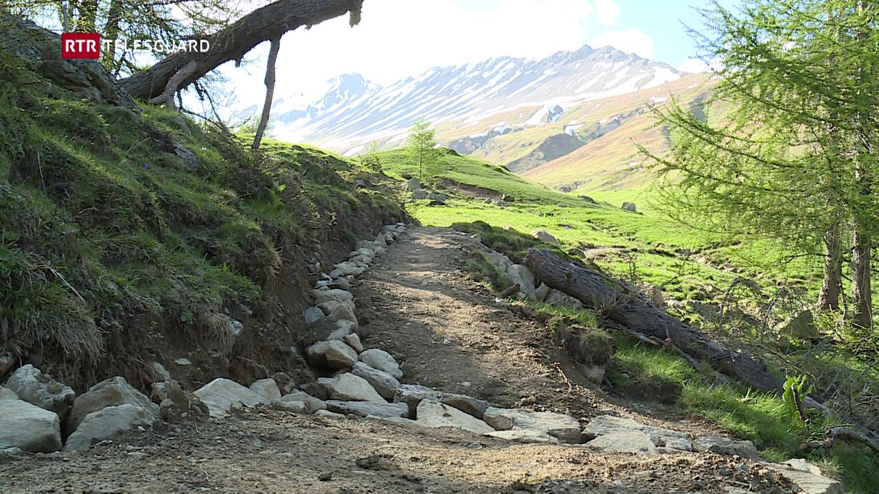 «Albula-Trail»: Ina senda per viandants e bikers