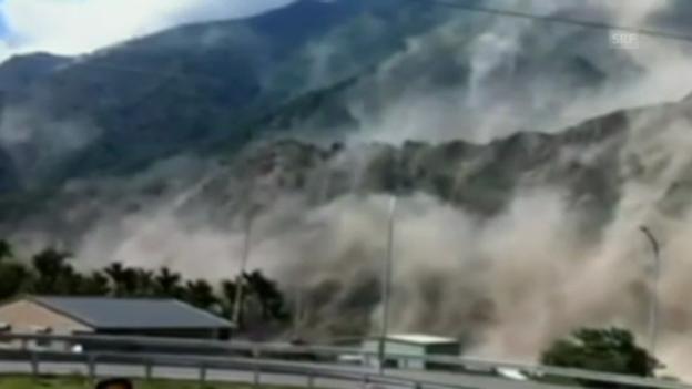 Video «Erdbeben in Taiwan» abspielen