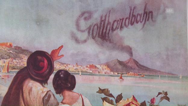 Video «Die Gotthard-Bahnplakate im Wandel der Zeit» abspielen