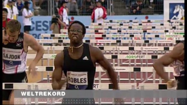 Video «LA: Weltrekord von Robles (Juni, 2008)» abspielen