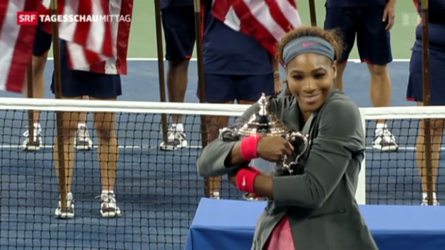 Video «Serena Williams gewinnt US-Open» abspielen