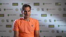 Link öffnet eine Lightbox. Video Federer: «Meine beste Leistung diese Woche» abspielen