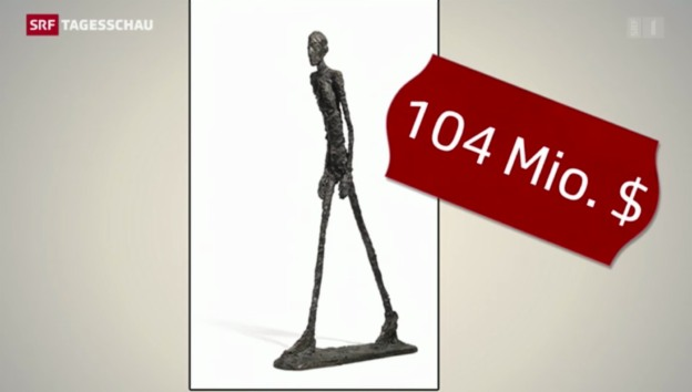 Video «104 Millionen für einen Giacometti» abspielen