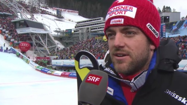 Video «Ski: Interview Vogel 2. Lauf» abspielen
