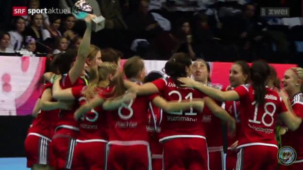 Video «Unihockey: Frauen-WM in Finnland» abspielen