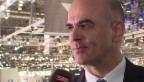 Video «Bundesrat Alain Berset: «Ein autonomes Fahrzeug wäre ein Luxus»» abspielen
