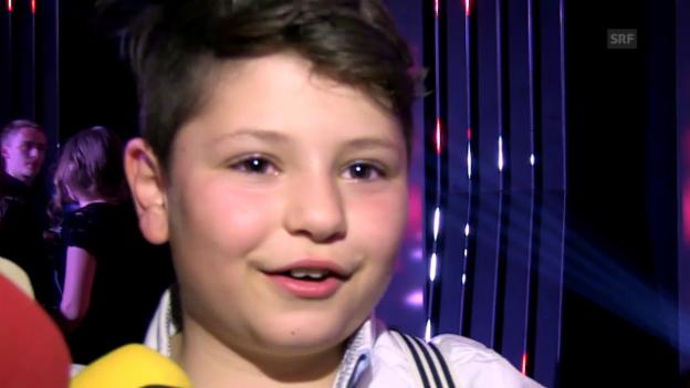 Video «Flavio Rizzello nach seinem Sieg» abspielen