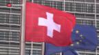 Video «Bundesrat verhandelt weiter über EU-Rahmenabkommen» abspielen