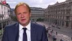 Video «Einschätzungen von Christian Kolbe, SRF-Wirtschaftsredaktor» abspielen