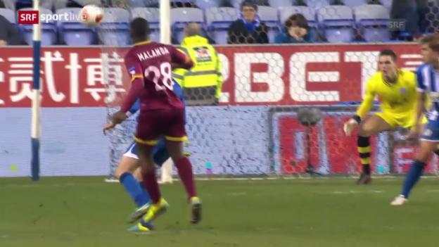 Video «Fussball: Europa League, Tor des Abends («sportlive»)» abspielen