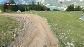 Video «Mountainbike: Training in der Lenzerheide» abspielen