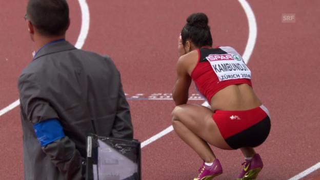 Video «Leichtathletik-EM: 4x100-m-Staffel der Frauen» abspielen
