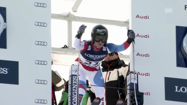 Ski-WM: Kombi-Abfahrt von Lara Gut