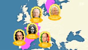 Video «König Albert II.: Die royalen Seitenspringer» abspielen