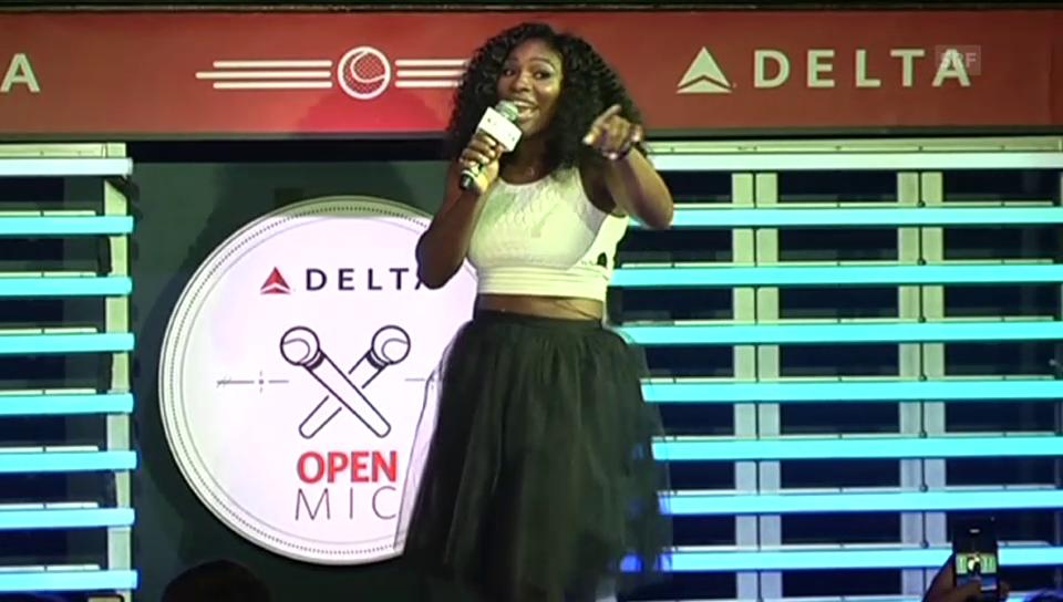 Serena Williams singt «Under the Sea»
