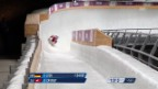 Video «Rodeln: 2. Lauf Carigiet (sotschi direkt, 8.2.2014)» abspielen