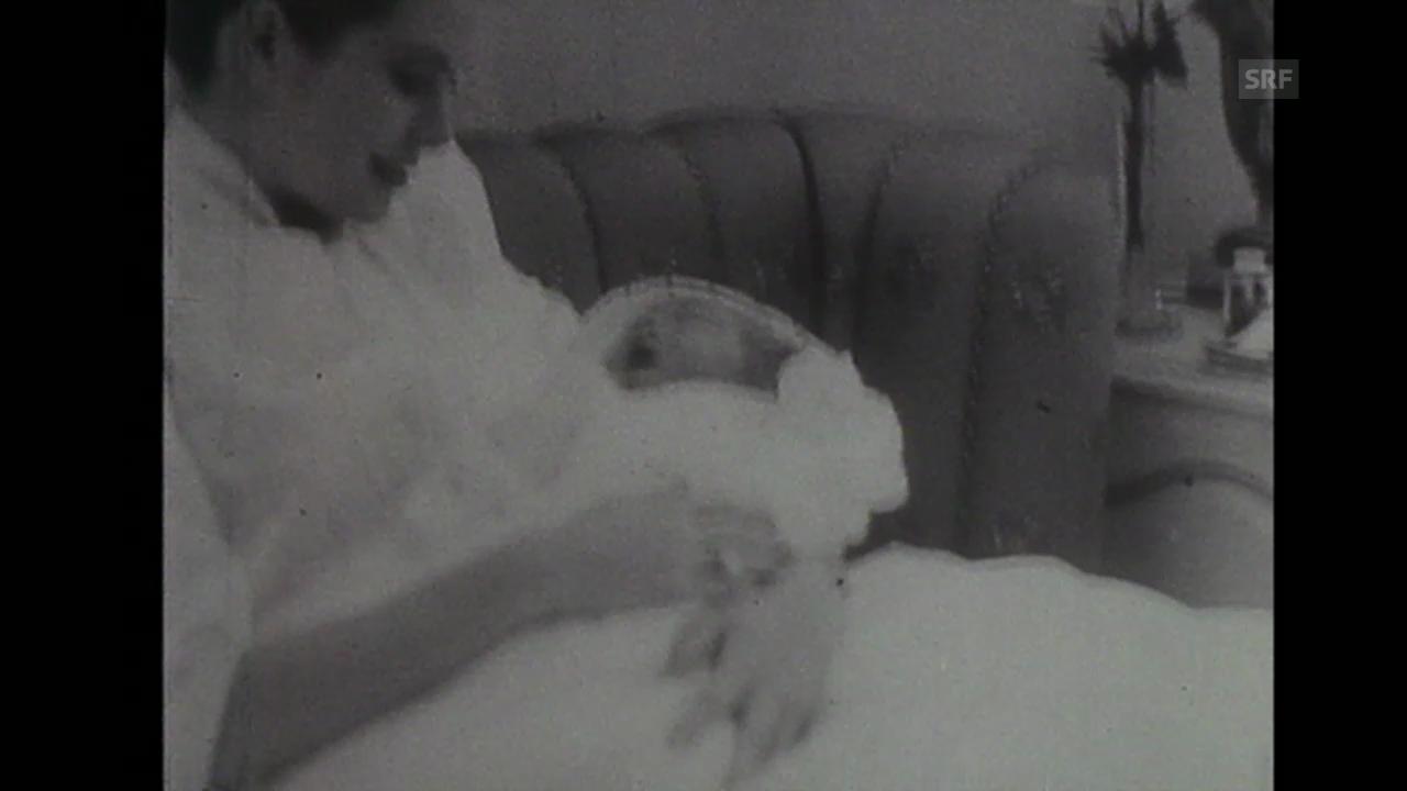 «Fürstin und Mutter», Tagesschau, 30.12.1957