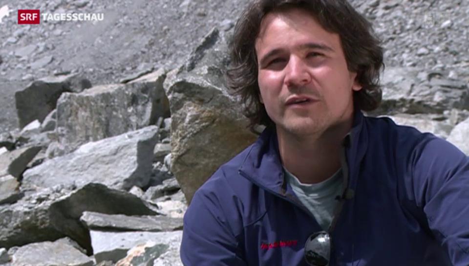 Bodenforscher finden Mikroorganismen in Gletscher