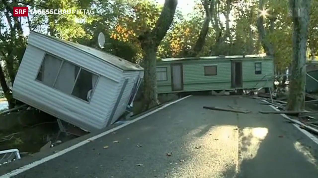 Tote bei Unwettern in Südfrankreich