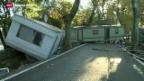 Video «Tote bei Unwettern in Südfrankreich» abspielen