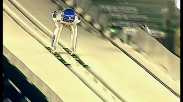 Video «Skispringen: Simon Ammann an der WM 2003» abspielen