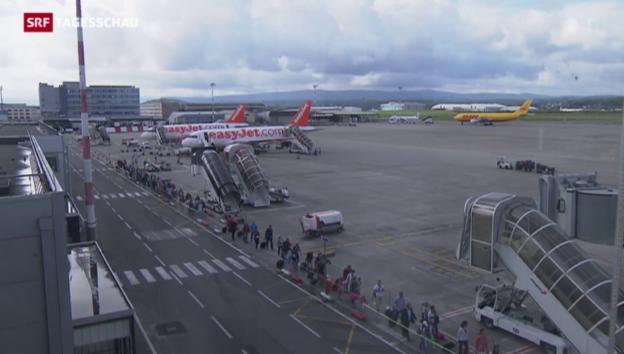 Video «Annäherung im Steuerstreit um den EuroAirport» abspielen