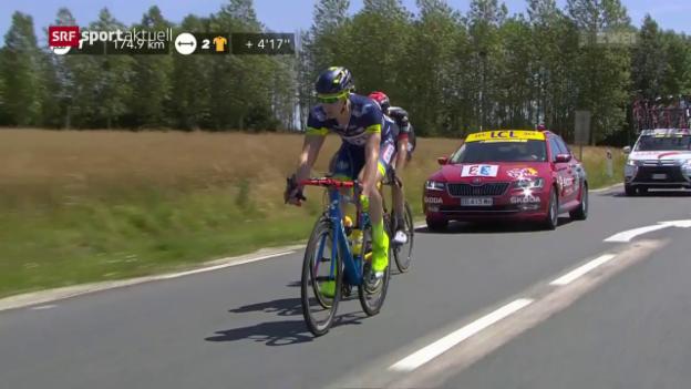 Video «Die 6. Etappe der Tour de France wird zu Kittels Beute» abspielen